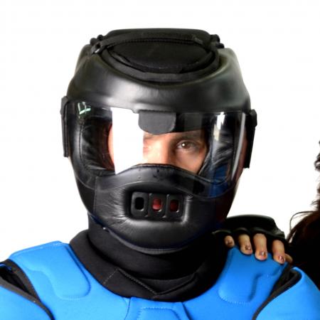helmet-collar
